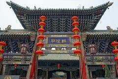 Città antica di Ping Yao fotografia stock
