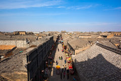 Città antica di Pingyao Fotografie Stock Libere da Diritti