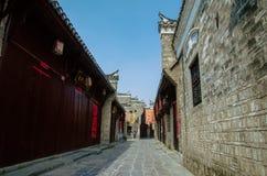 Città antica di SanHe fotografia stock