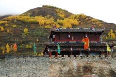Città antica di SongPan Immagini Stock Libere da Diritti