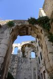 Città antica di spaccatura Fotografia Stock Libera da Diritti
