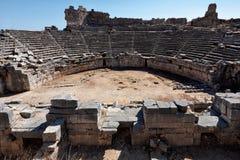 Città antica di Xanthos Fotografia Stock
