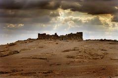 Città antica Masada Immagini Stock
