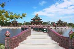 Città antica, Mueang Boran Fotografia Stock