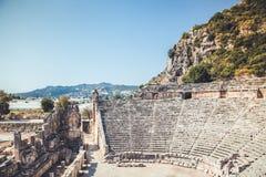 Città antica in Myra Demre Turkey Immagini Stock Libere da Diritti