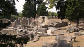 Città antica Salona, Croazia a partire dallo XVII secolo BC archivi video