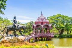 Città antica - Samutprakarn Tailandia Immagini Stock Libere da Diritti