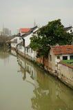 Città antica Shanghai di Sijing Fotografie Stock Libere da Diritti
