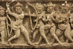 Città antica in Tailandia fotografia stock libera da diritti