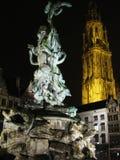 Città Anversa fotografie stock libere da diritti