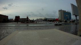 Città Aqtau il Kazakistan video d archivio