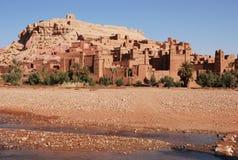 Città araba AIT Benhaddou, Marocco fotografie stock libere da diritti
