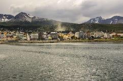 Città Argentina di Ushuaia Immagine Stock Libera da Diritti