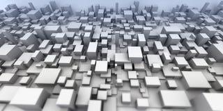 Città astratta illustrazione vettoriale