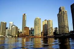 Città Australia di Brisbane Fotografie Stock Libere da Diritti