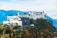 Città austriaca Salisburgo Fotografia Stock Libera da Diritti