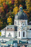 Città austriaca Salisburgo Fotografie Stock Libere da Diritti