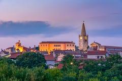 Città balla/di Valle, Croazia fotografia stock libera da diritti