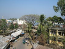 Città Bangladesh di Rangamati fotografia stock