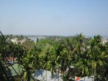 Città Bangladesh di Rangamati immagini stock libere da diritti