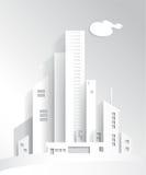 Città bianca immagini stock libere da diritti
