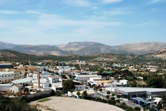 Città bianca, Priego de Cordova Fotografia Stock