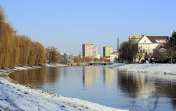 Città Breclav fotografia stock libera da diritti