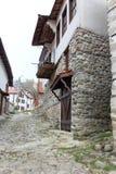 Città bulgara di Melnik Immagine Stock