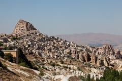 Città in Cappadocia, Turchia della caverna Fotografia Stock