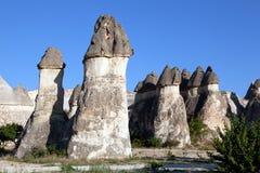 Città in Cappadocia, Turchia della caverna Immagine Stock Libera da Diritti
