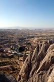 Città in Cappadocia, Turchia della caverna Immagini Stock Libere da Diritti
