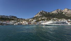 Città Capri Immagini Stock Libere da Diritti