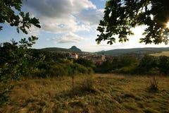 Città ceca fotografia stock libera da diritti