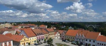 Città ceca fotografia stock