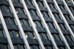 Città che sviluppa Windows Immagine Stock