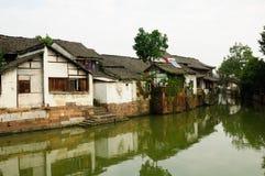 Città Cina dell'acqua di Xinshi immagini stock
