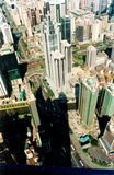 Città cinese - Shenzhen fotografie stock