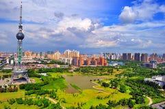 Città cinesi oggi Fotografia Stock