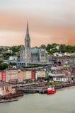 Città Cobh in Irlanda Immagini Stock