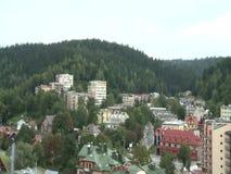 Città in colline video d archivio