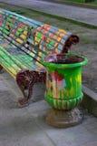Città colorata. fotografie stock libere da diritti