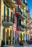 Città Colourful fotografie stock libere da diritti