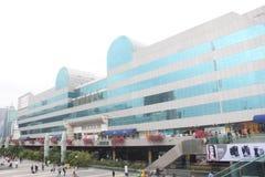 Città commerciale di Luohu nel ¼ ŒAsia di Œchinaï del ¼ dello shenzhenï Immagini Stock Libere da Diritti