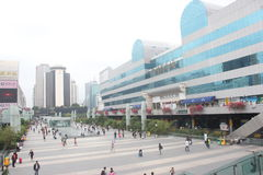 Città commerciale di Luohu nel ¼ ŒAsia di Œchinaï del ¼ dello shenzhenï Immagine Stock Libera da Diritti