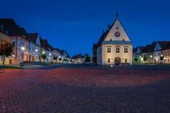 Città-corridoio in Bardejov fotografie stock