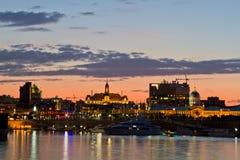 Città corridoio di Montreal Fotografie Stock