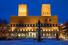 Città corridoio di Oslo immagini stock