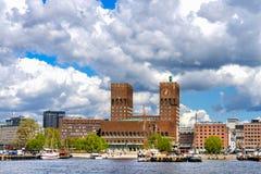 Città corridoio di Oslo Fotografie Stock Libere da Diritti