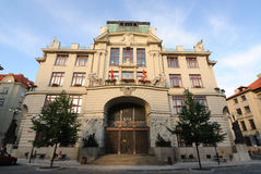 Città corridoio di Praga Immagine Stock Libera da Diritti