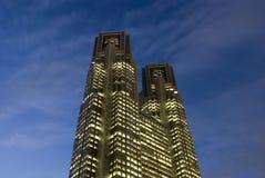 Città corridoio di Tokyo Fotografie Stock